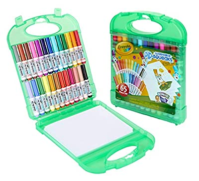 Crayola Pip Squeaks Washable Markers Set, Stocking Stuffers, Gift For Kids, Ages 4, 5, 6, 7