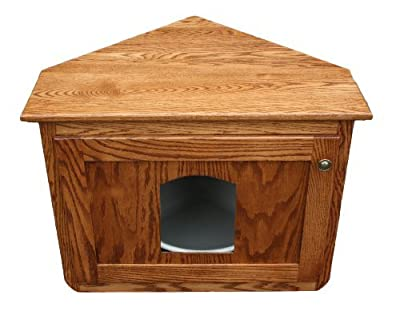 Corner Cat Litter Box furniture