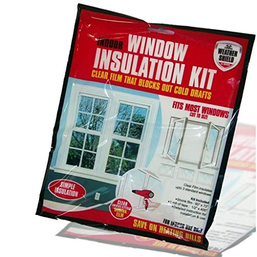 PMS Weather Shield Window Insulation KIT in OPP Bag
