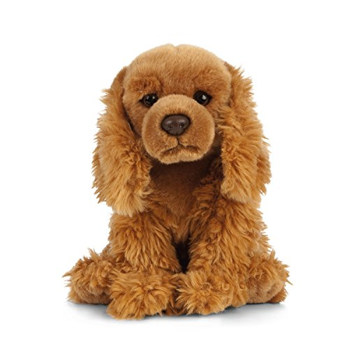 Living Nature Soft Toy - Plush Cocker Spaniel Dog (20cm)