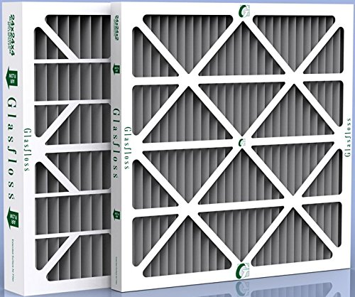 Amazing Deal Santa Fe Compact or Compact 2 Dehumidifier Carbon Odor Control Filters 9 x 11 x 1 - 12...