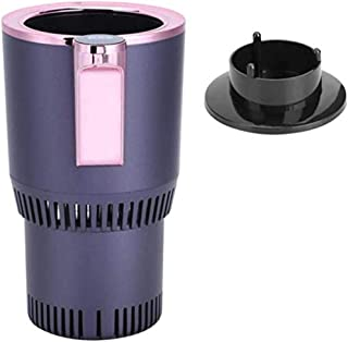 Cooling Cup 2-in-1 Car Cup Warmer and Cooler 12V Electric Temperature Display Coffee Warmer Beverage Cooling & Heating Mug...