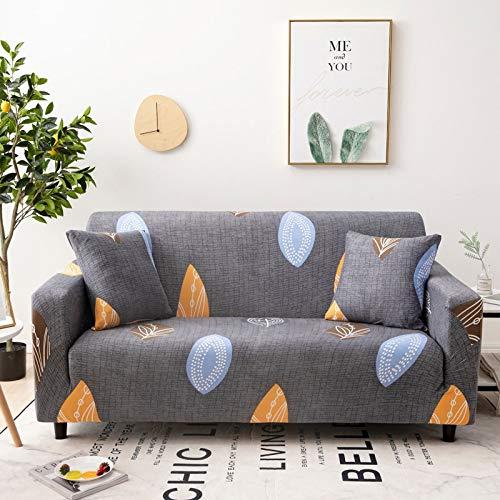 WXQY Four Seasons Fundas elásticas elásticas Funda de sofá Antideslizante Funda de sofá para Mascotas Esquina en Forma de L Funda de sofá Antideslizante A18 2 plazas