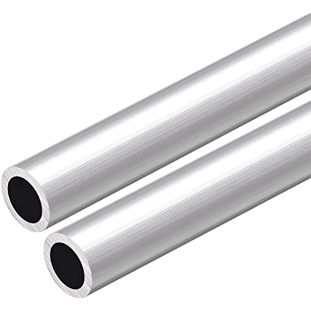 3 piezas sourcing map 6063 Aluminio Redondo Tubo 300mm Longitud 16mm OD 5-15mm Di/ámetro Interior Sin Costura Aluminio Recto Tuber/ía ID de 15 mm x 16 mm de di/ámetro exterior