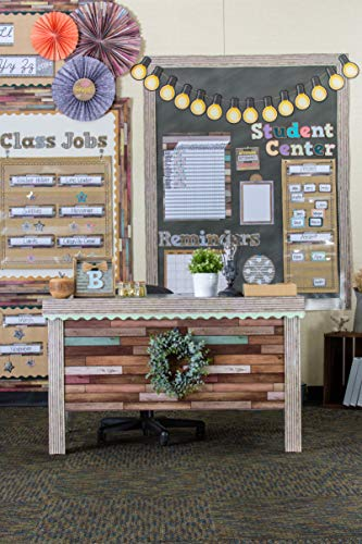 Teacher Created Resources Reclaimed Wood Better Than Paper Bulletin Board Roll (TCR77399) Photo #5