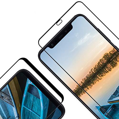Protector Pantalla para Xiaomi Mi 8/ Mi 8 Pro, [2 Piezas] Cristal Templado para Xiaomi Mi 8/ Mi 8 Pro, [3D Cobertura Completa] [9H Dureza] [Resistente a Arañazos] Vidrio Templado para Mi 8/ Mi 8 Pro