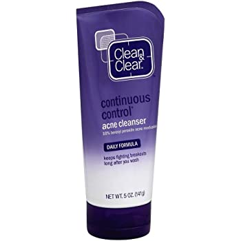 Clean & Clear Cleanser Acne Continuous Control 5 Ounce (148ml) (2 Pack)