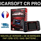 Valise Diagnostic Auto MULTIMARQUE OBD2 100% Francais CR Pro Outil