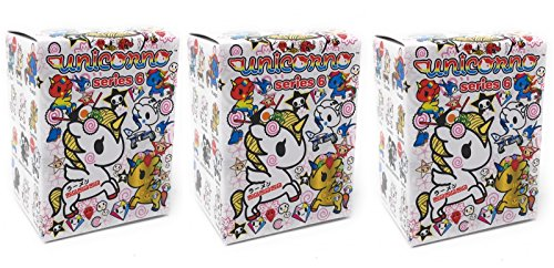 Tokidoki Unicorno Series 6 Blind Box Collectible Vinyl Figure (Pack of 3)