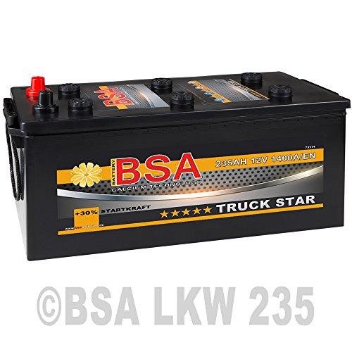 Preisvergleich Produktbild LKW Batterie 235Ah 12V 1400A / EN Starterbatterie statt 200AH 220AH 225AH 230AH