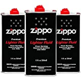 Zippo Premium Lighter Fluid, 12-Ounces, 3-Pack