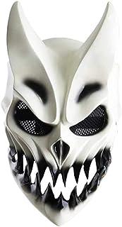 Tixiyu Halloween Kostuum Party Maskers, Halloween Slachten Om te prevaleren Masker met beweegbare mond, Cosplay Kostuum Mu...