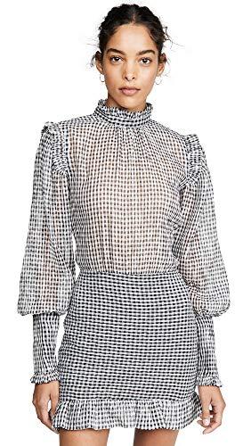 Price comparison product image Bec & Bridge Women's Nadine Mini Dress,  Check,  Black,  Plaid,  8