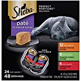 Sheba Perfect Portions Paté Wet Cat Food Tray Variety Packs