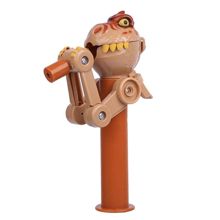 バラエティ合理化幻影ロリポップホルダーロボットスタンド収納、食べるロリポップロボット かわいい革新的なアーティファクト面白い玩具ギフト