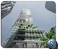 超高層ビルの庭はマウスパッドの長方形のマウスパッドの賭博のマウスマットをカスタマイズしました