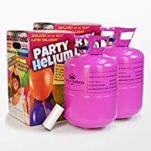 We Are Party Pack Maxi Duo - 2 bombonas de Helio de 0.42m3 para 100 Globos