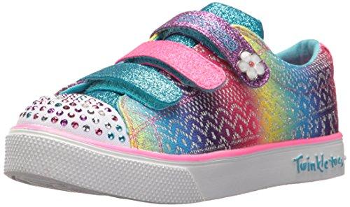 Skechers Mädchen Twinkle Breeze 2.0 - Sunshine Sneaker, Mehrfarbig (Multicoloured), 35 EU