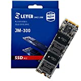 LEVEN M.2 SSD 960GB 3D NAND TLC SATA III 6 Gb/s, M.2 (2280mm) Internal Solid State Drive - Compatible with Desktop PC Laptop - (JM300M2-2280960GB)