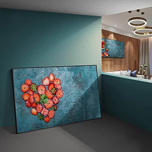 Modern Kitchen Fruit Creative Art Posters and Prints Cuadros Wall Art for Living Room Home Decor 30x55 CM (sin marco)