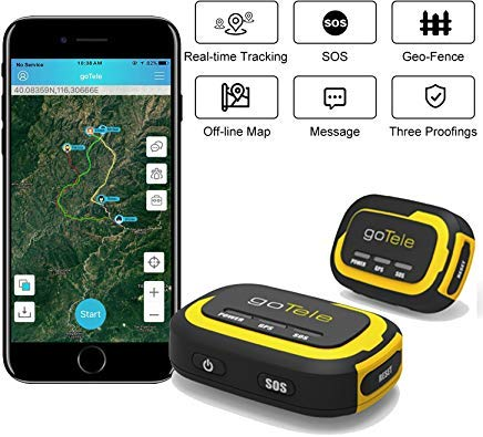 Our #9 Pick is the goTele GPS Tracker for Hiking