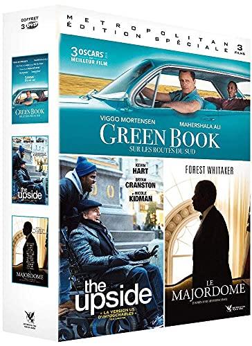Coffret feel good movie 3 films : green book : sur les routes du sud ; le majordome ; the upside