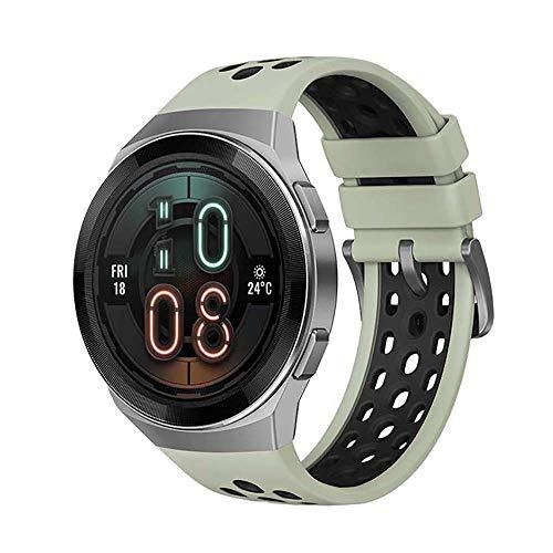 gooplayer para Huawei Watch GT 2e Smartwatch 1.39 Pulgadas AMOLED HD Pantalla táctil 2 semanas Vida útil de la batería GPS y GLONASS Detecta automáticamente 6 Modos Deportivos (Verde)