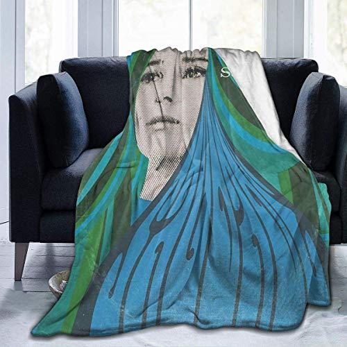 XCNGG Mantas de Cama Mantas de Siesta Mantas de Aire Acondicionado Thievery Corporation Home Warm Blanket Luxury Super Soft Flannel Large Size Living Room Bedroom