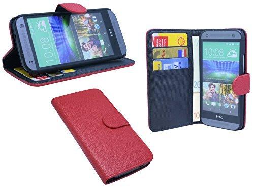 günstig ENERGMiX HTC ONE Mini 2 Praktisches Bücherregal für Bücher im Stil einer roten Brieftasche Vergleich im Deutschland