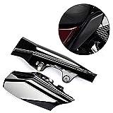 PSLER® Deflector de Calor de Aire, Cubierta Protectora para Harley Touring Street Electra Glide Road King 2001-2008