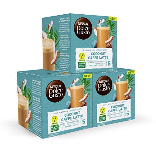 Nescafé DOLCE GUSTO Café COCO LATTE - Pack De 3 x 12 cápsulas - Total: 36 Cápsulas