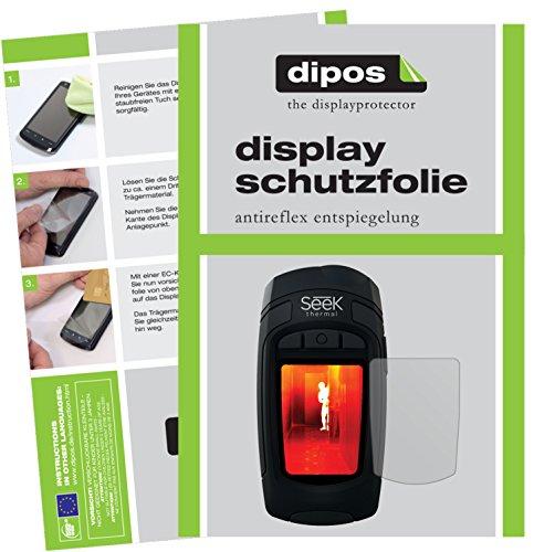 dipos I 6X Schutzfolie matt kompatibel mit Seek Thermal RevealXR Wärmebildkamera Folie Displayschutzfolie
