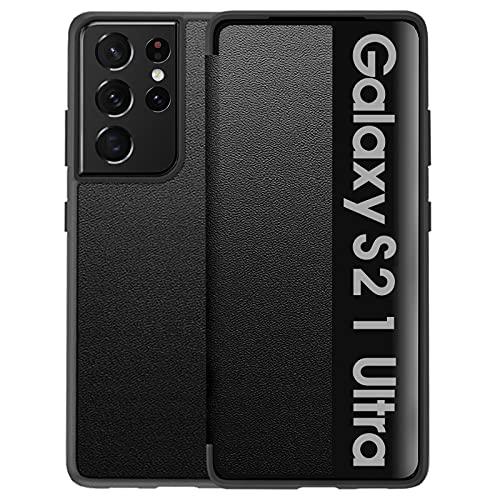 Samsung Galaxy S21 Ultra 5G funda Smart Crystal Clear – 360 grados...