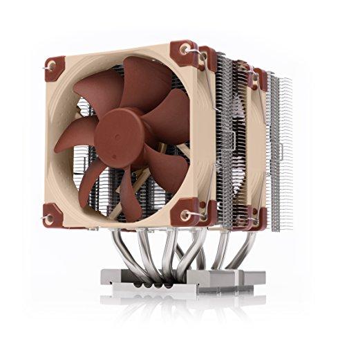 Noctua NH-D9 DX-3647 4U, Dissipatore di Calore di qualità Premium per Intel Xeon LGA3647 (Marrone)