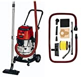 Einhell Cordless Wet & dry vac TE-VC 36/30 Li S-Solo Power X-Change (ECO/BOOST, 30 l stainless steel tank, Blow Connector, incl. 2.5 m heavy-duty hose, Supplied without a Battery or Charger)