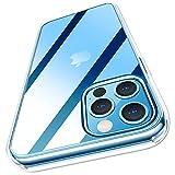 MeifignoiPhone 12 用ケース 12 Pro用 ケース完全透明「エアクッション」「四角強化」「黄ばみない」ハードバック+ソフトエッジ iPhone 12/12 Pro用 カバー6.1インチ対応(2020-クリア)
