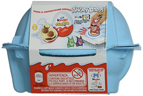 Kinder Merendero - 2 specialità con Crema al Latte e Cacao con Sorpresa - 40 gr [confezione da 10]
