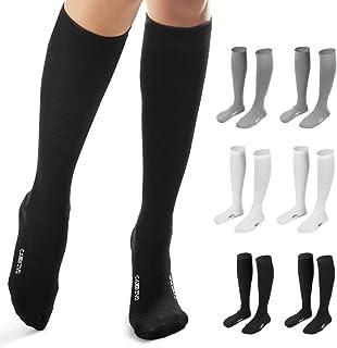 6 pares de calcetines de compresión para mujer y hombre, calcetines de compresión, calcetín para deporte, Crossfit, Running, baloncesto, fútbol, trabajo