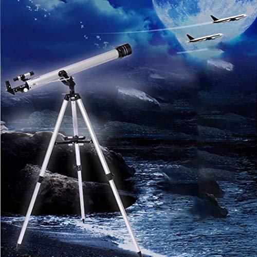LMM Teleskop, Travel Scope, Astronomischer réfracter Teleskop mit Stativ Finder Scope, beweglichem Teleskop for Kinder Anfänger, Brennweite 900mm, bis zu 675 Mal (Color : -, Size : -)