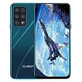 CUBOT X30 Smartphone ohne Vertrag, 8GB RAM/128GB, 6.4 Zoll HD Display, 5-Kameras 48MP, 4200mAh Akku, Android 10, Dual SIM, 4G Global Version, Grün