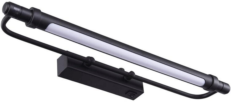 Spiegelleuchten LED Ferroalloy Anti-fog Acryl Spiegel vorne Leuchten (gre   4W43cm)