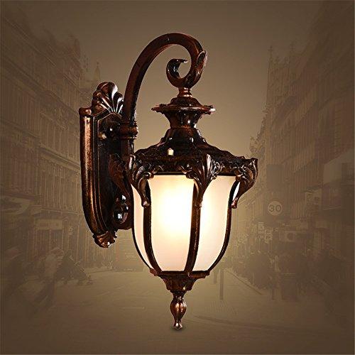 JJZHG wandlamp wandlamp waterdichte wandverlichting retro binnentuin balkonwoonkamerlampen - vloerlamp waterdichte wandlamp omvat: wandlamp, stoere wandlampen, wandlampen design