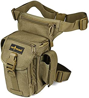 FREE SOLDIER Tactical Gota Bolsa de Pierna Panel Airsoft de