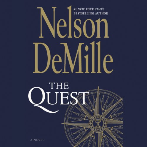 The Quest Audiobook By Nelson DeMille cover art