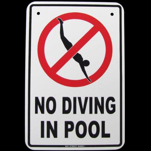 Gefahr Tauchen Schwimmbad Whirlpool