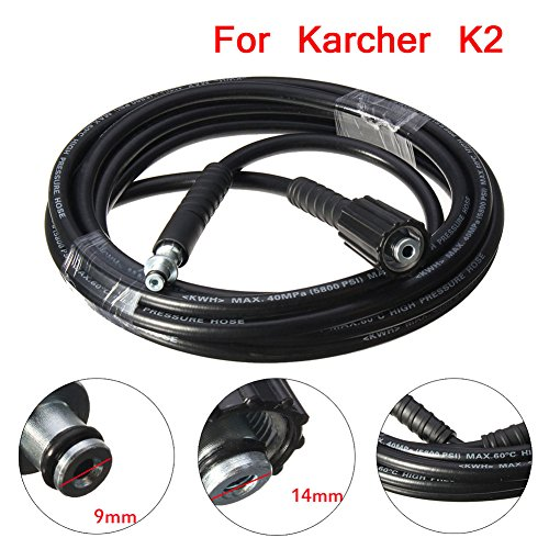 Majome 5M 5800PSI/160BAR High Pressure Replacement Pipe Hose for Karcher K2 Cleaner