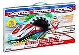 RST- Rsta – Modellino Grande Treno Veloce interattivo con binari 80 pz. da Costruire 8231, Colore Bianco