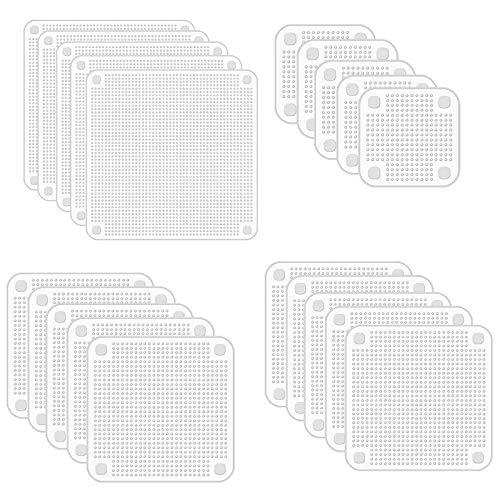 SODIAL Couvercles Extensibles en Silicone Couvercles Extensibles pour S' à Diverses Formes de RéCipients, Plats, Bols, Coffre-Fort au Lave-Vaisselle, Micro-Ondes et CongéLateur