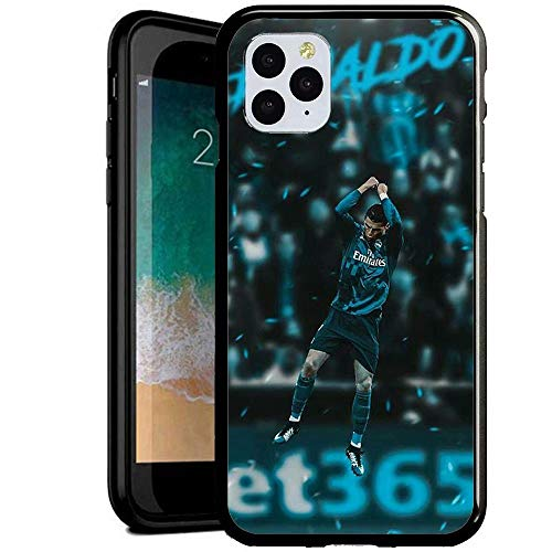 Compatible con iPhone 7 Plus/8 Plus Funda, Carcasa con patrón Diseño Bordes en Suave TPU Silicona Híbrida Tempered Vidrio para iPhone 7 Plus/iPhone 8 Plus (HHUU1100023)