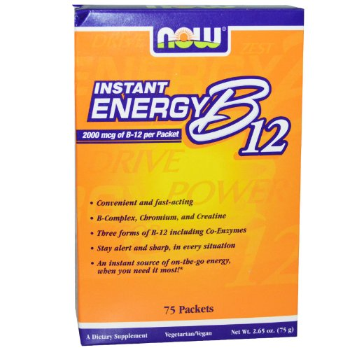 Now Foods - B-12 Instant Energy Packets 75/Box